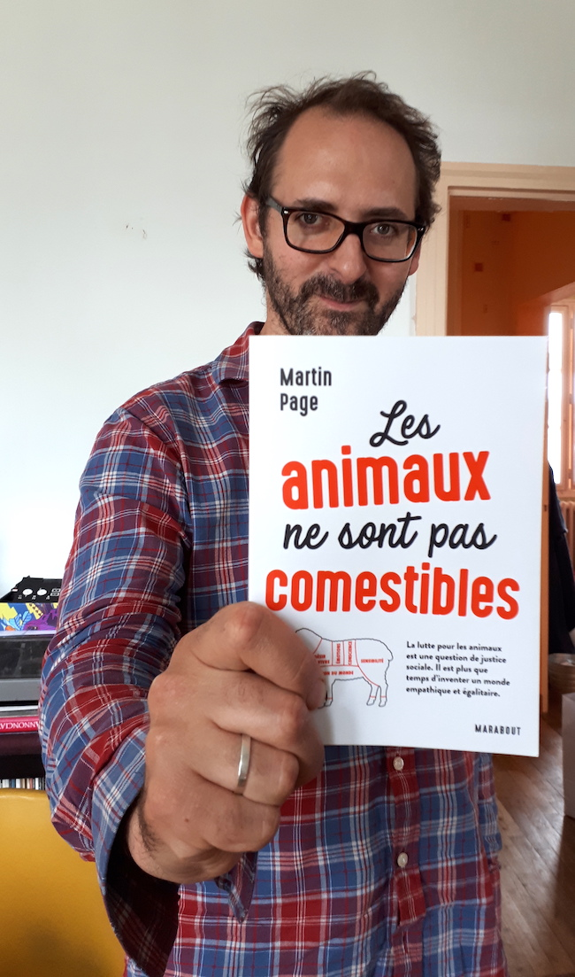 martin page animaux